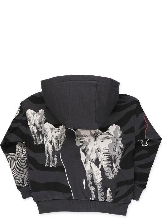 Multi Icon track jacket