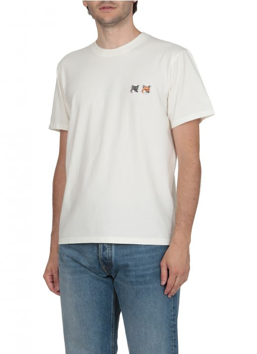 Double embroidery T-shirt