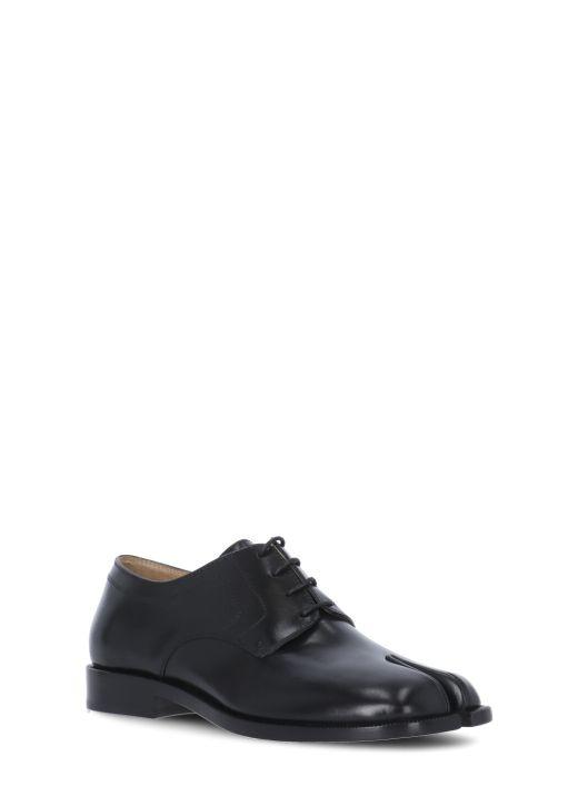 Tabi lace-up shoe