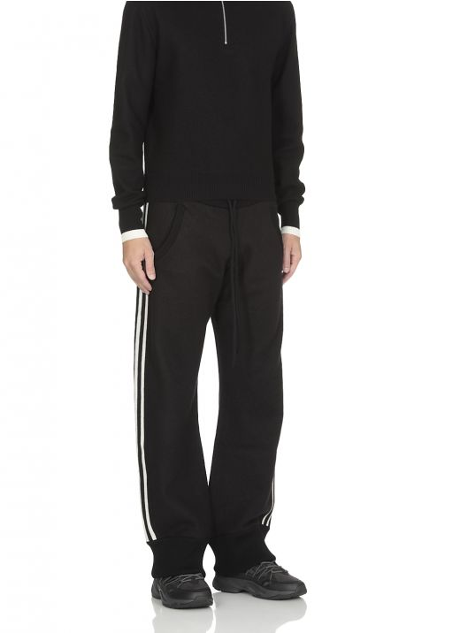 Sweatpants with side bands