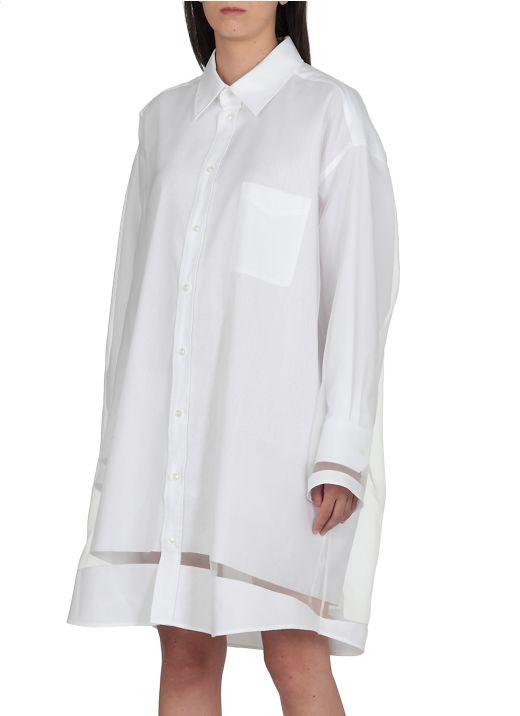 Cotton chemisier