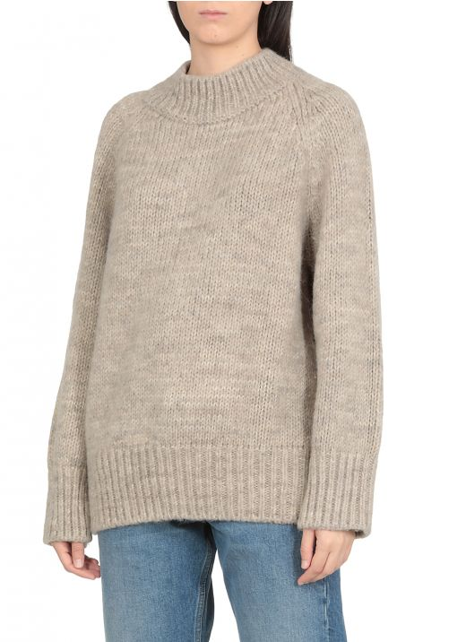 Thick knit pullover