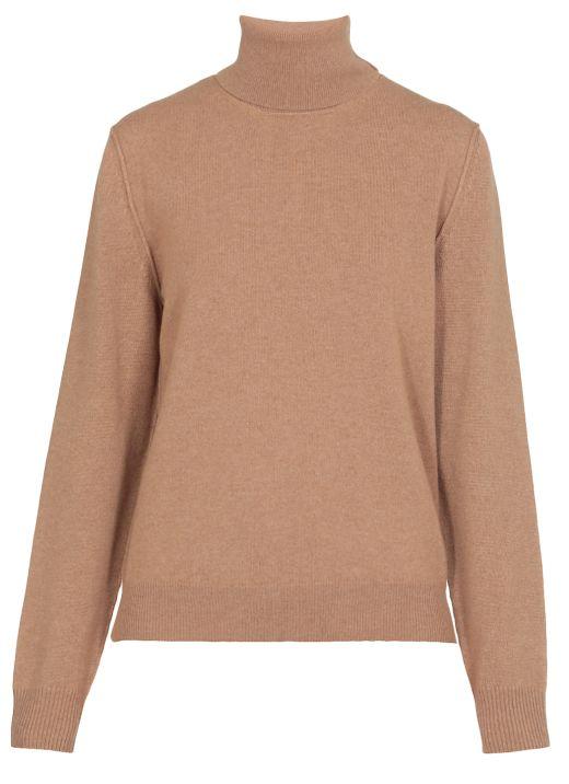 Cashmere high neck sweater