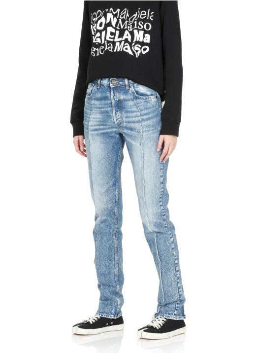 Spliced jeans