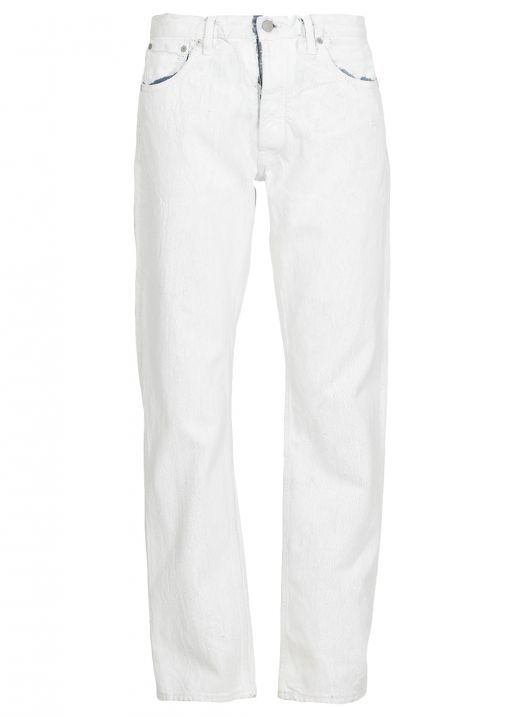 White-out jeans
