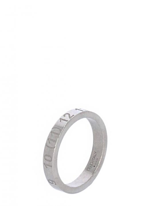 Ring with numerical logo