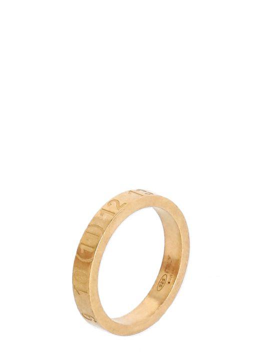 Number logo slim ring