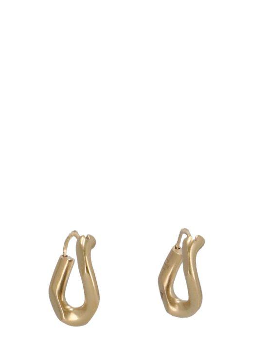 Number logo earings