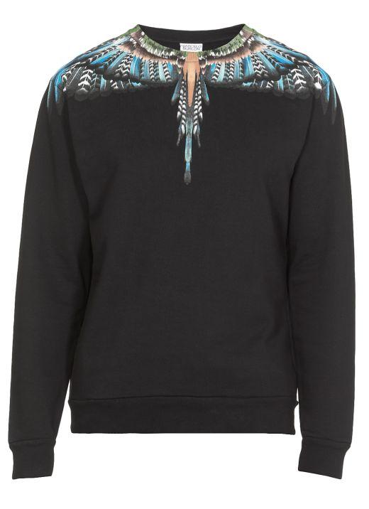 Sweatshirt with Wings print