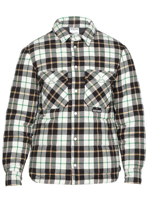 Check Cotton Coat