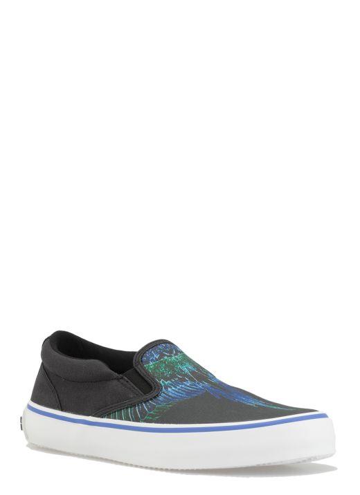 Wings print Sneaker