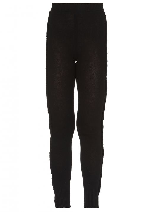 Recycled cashmere leggings