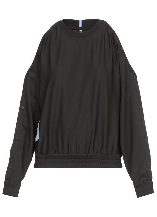 Breathe: Popper sweater