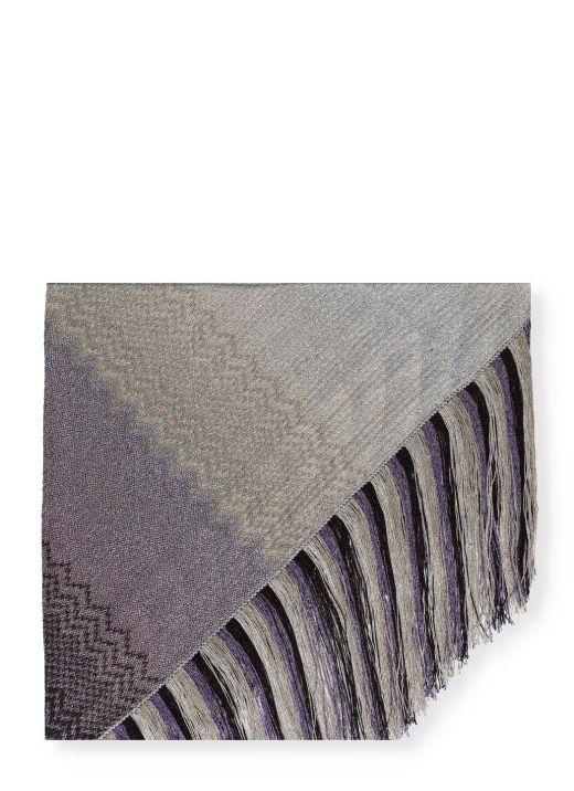Lurex shawl