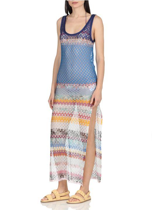Multicolor beachrobe