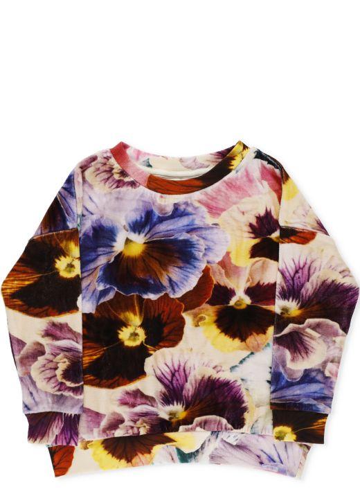 Chenille sweatshirt