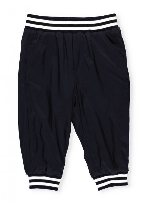 Pants with striped trims