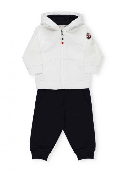 Two pieces trackpant with logo