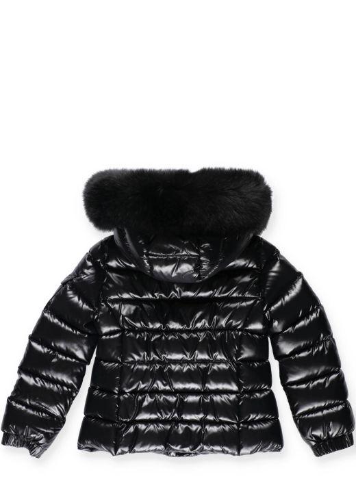 Bady fur down jacket