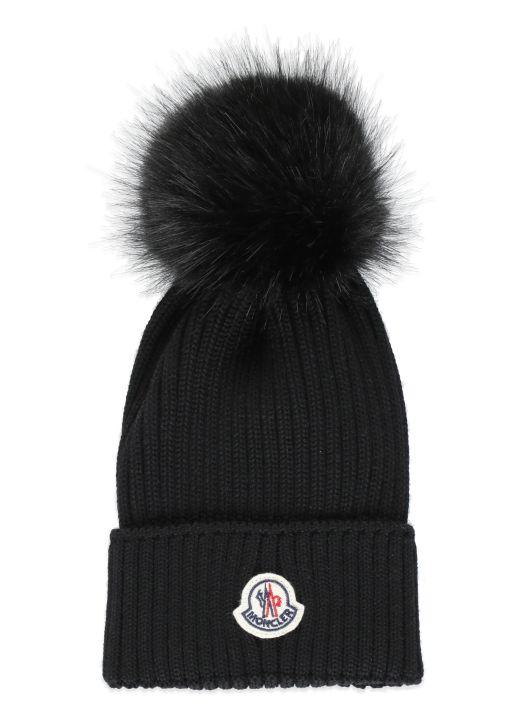 Beanie hat with pom pom