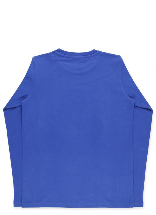 Sweater with velvet print