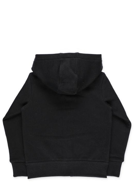 Sweatshirt with Moncler insert