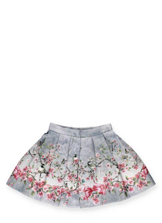 Brocaded skirt