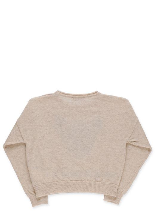 Bambi inlay pullover