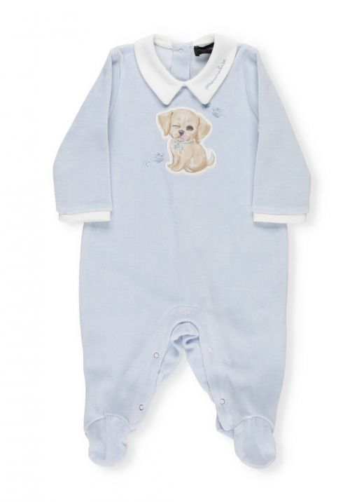 Plush cotton baby romper