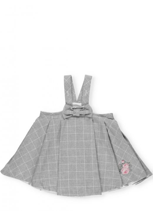 Dungarees with bow