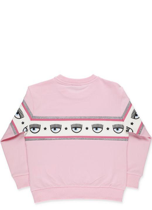 Chiara Ferragni x Monnalisa:Logomania sweatshirt