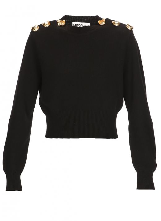 Teddy Bear cashmere sweater