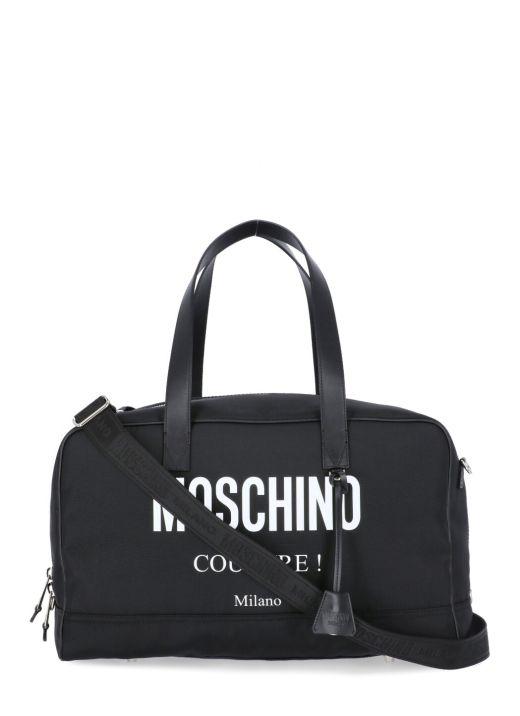 Logo duffel bag