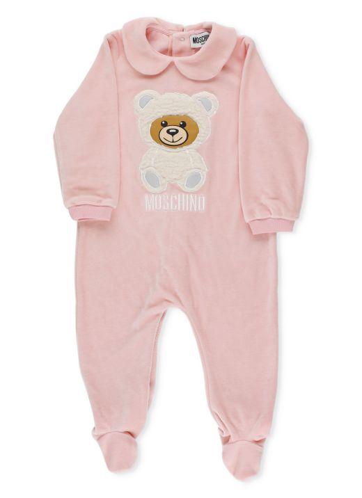 Teddy Chenille Baby Romper