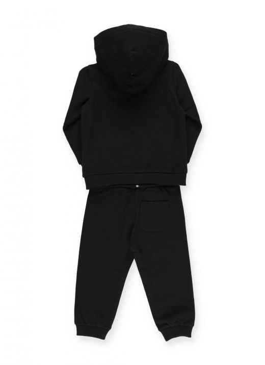 Two-piece tracksuit with embroidered logo