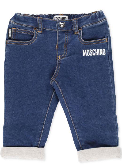 Loged jeans