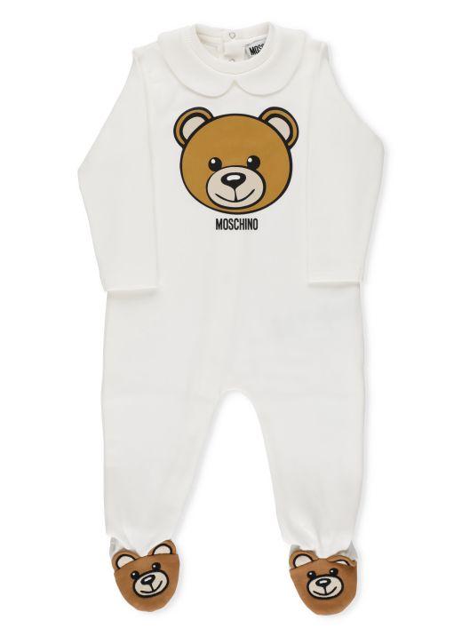 Moschino Tedyy Bear fleece jumpsuit