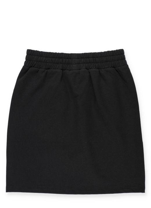 Skirt with logo print