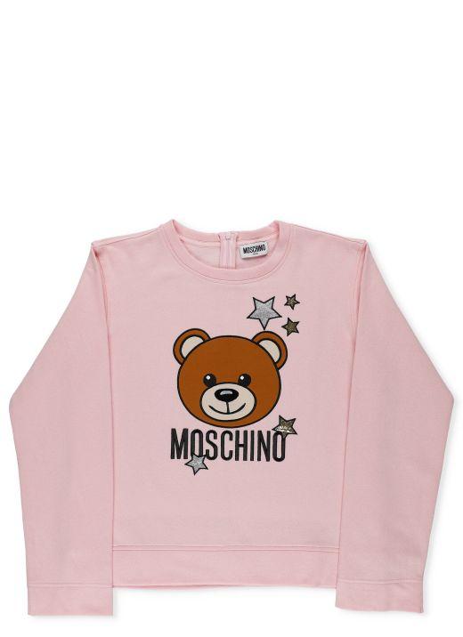 Starry Bear cotton sweatshirt