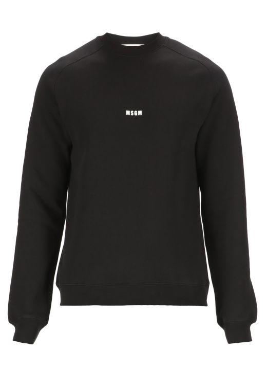 Sweatshirt with printed logo