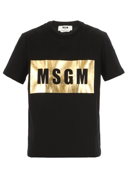 Golden Box logo T-shirt