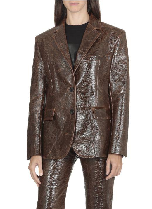 Mono-breasted jacket
