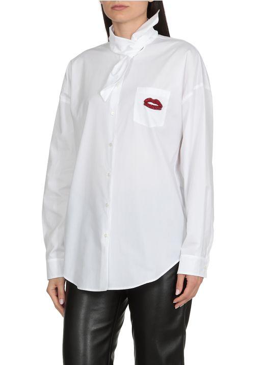 Kiss decoration shirt