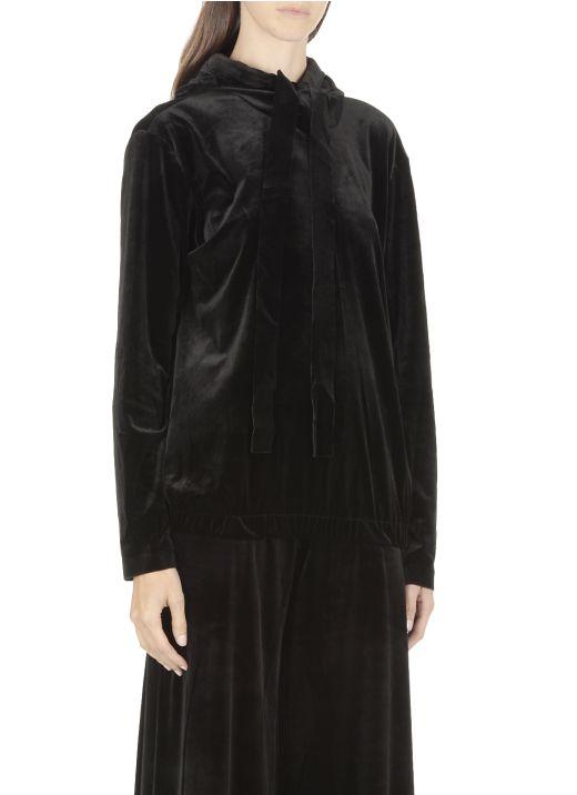 Fabric hoodie