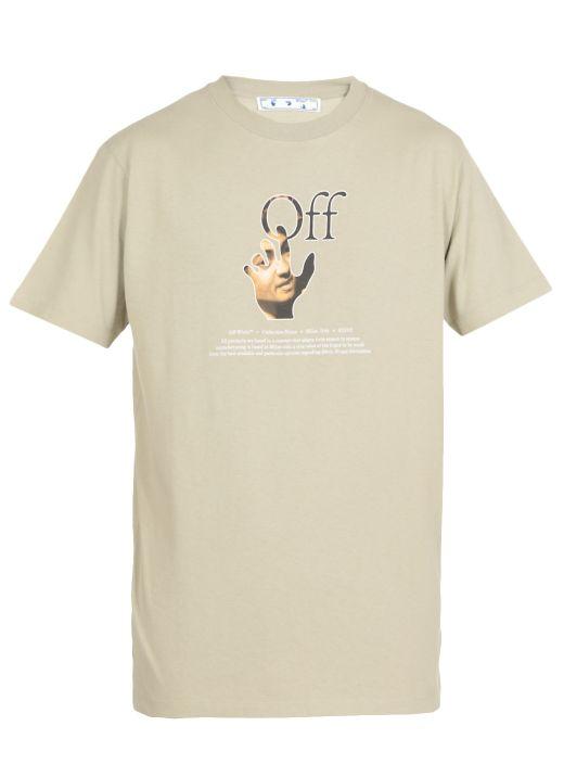 Caravaggio hand t-shirt