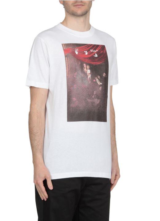 Caravaggio printed t-shirt