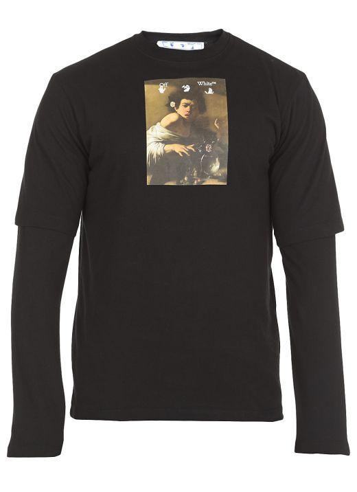 Caravaggio Boy double t-shirt