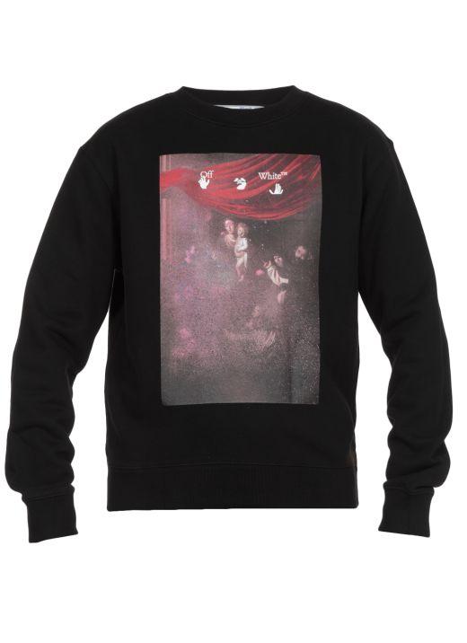 Caravaggio printed sweatshirt