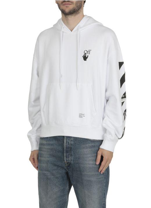 Caravaggio arrows hoodie