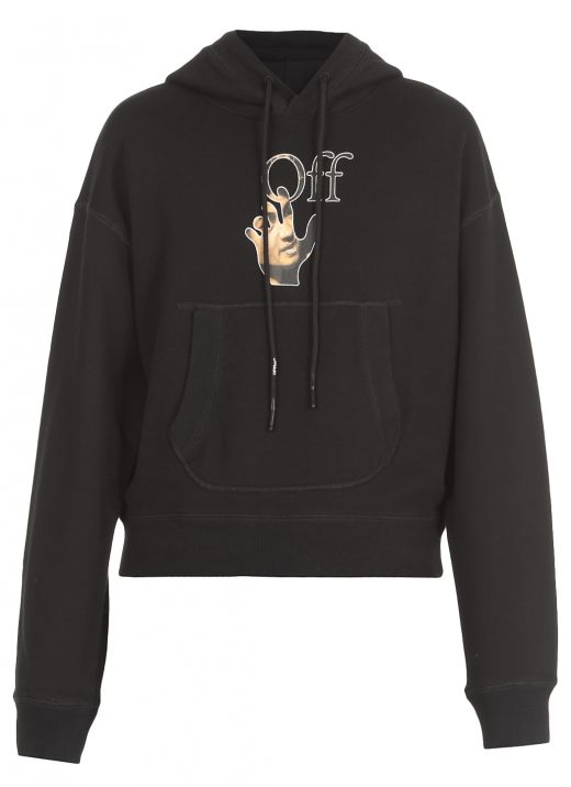 Caravaggio hand hoodie